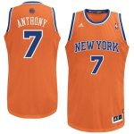 Maillot Anthony New York Knicks #7 Orange y Bleu