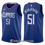 Maillot Los Angeles Clippers Boban Marjanovic Icon 51 2017-18 Bleu