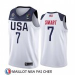 Maillot USA Marcus Smart 2019 FIBA Basketball World Cup Blanc