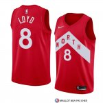 Maillot Tornto Raptors Jordan Loyd Earned 2018-19 Rouge