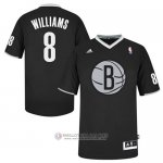 Maillot Williams Brooklyn Nets #8 Noir