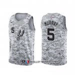 Maillot San Antonio Spurs Dejounte Murray Earned Camuflaje