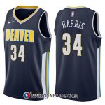 Maillot Denver Nuggets Devin Harris Icon 34 2017-18 Bleu