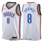 Maillot Oklahoma City Thunder Alex Abrines Swingman Association 8 2017-18 Blanc