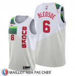 Maillot Milwaukee Bucks Eric Bledsoe Earned Blanc