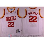 Maillot NBA Planeador Drexler Houston Rockets Blanc