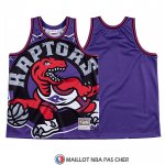 Maillot Tornto Raptors Mitchell & Ness Big Face Volet