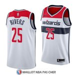 Maillot Washington Wizards Austin Rivers Association 2018 Blanc