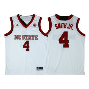 Maillot NC State Smith JR 4 Blanc