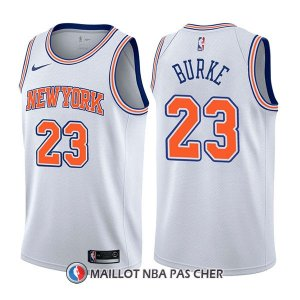 Maillot New York Knicks Trey Burke Statement 23 2017-18 Blanc