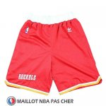 Short Houston Rockets Hardwood Classics Rouge