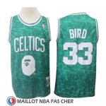 Maillot Boston Celtics Larry Bird Mitchell & Ness Vert