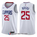 Maillot Los Angeles Clippers Austin Rivers Association 25 2017-18 Blanc