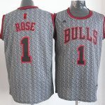 Maillot Rose Chicago Bulls #1 Static Fashion