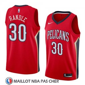 Maillot New Orleans Pelicans Julius Randle No 30 Statement 2018 Rouge