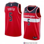 Maillot Washington Wizards Bobby Portis Icon 2018 Rouge