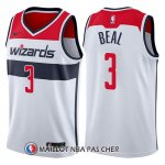 Maillot Washington Wizards Bradley Beal Association 2017-18 3 Blanc