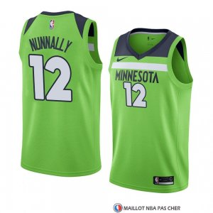 Maillot Minnesota Timberwolves James Nunnally statement 2017-18 Vert