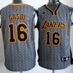 Maillot Gasol Los Angeles Lakers #16 Static Fashion