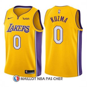Maillot Enfant Los Angeles Lakers Kyle Kuzma Icon 2017-18 0 Or