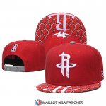 Casquette Houston Rockets Rouge