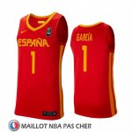 Maillot Espagne Sergi Garcia 2019 FIBA Baketball World Cup Rouge