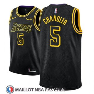 Maillot Los Angeles Lakers Tyson Chandler Ciudad 2018 Noir