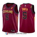 Maillot Enfant Cleveland Cavaliers J.r. Smith Icon 2017-18 5 Rouge