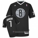 Maillot Johnson Brooklyn Nets #7 Noir
