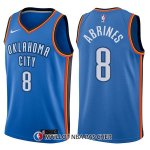 Maillot Oklahoma City Thunder Alex Abrines Swingman Icon 8 2017-18 Bleu