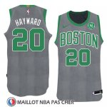 Maillot Noel 2018 Boston Celtics Gordon Hayward No 20 Vert