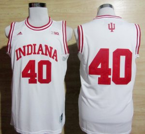 Maillot Cody Zeller indiana #40 Blanc