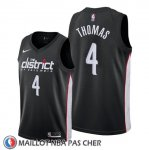 Maillot Washington Wizards Isaiah Thomas Ville Noir