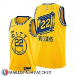 Maillot Golden State Warriors Andrew Wiggins Classic 2019-20 Jaune