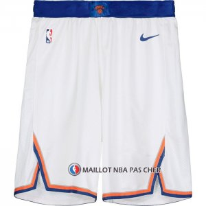 Short New York Knicks Blanc