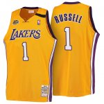 Maillot Retro 1999-00 Lakers Russell 1 Jaune