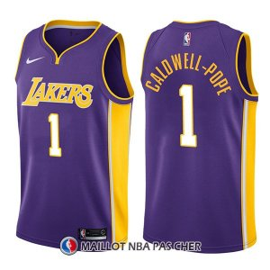 Maillot Los Angeles Lakers Kentavious Caldwell Pope Statement 1 2017-18 Volet