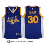Maillot Champion Final Golden State Warriors Curry 30 2017 Bleu
