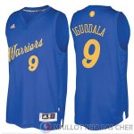 Maillot Iguodala Golden State Warriors Noel #9 Bleu