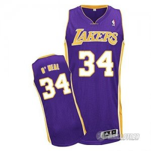 Maillot Violet O neal Los Angeles Lakers Revolution 30