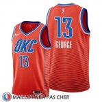 Maillot Oklahoma City Thunder Paul George Statement Orange