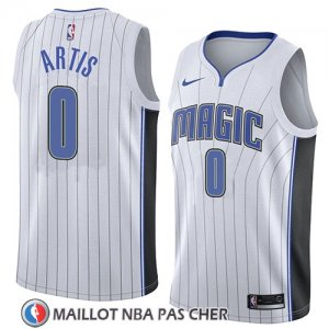 Maillot Orlando Magic Jamel Artis No 0 Association 2018 Blanc
