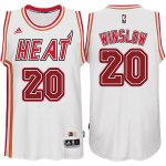 Maillot Retro Heat Winslow 20 Blanc
