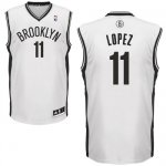Maillot Blanc Lopez Brooklyn Nets Revolution 30