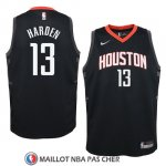 Maillot Enfant Rockets James Harden 13 Statement 2017-18 Noir
