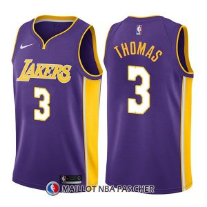 Maillot Los Angeles Lakers Isaiah Thomas Statement 3 2017-18 Volet
