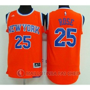 Maillot Knicks Rose 25 Orange