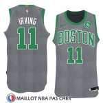 Maillot Noel 2018 Boston Celtics Kyrie Irving No 11 Vert