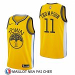 Maillot Golden State Warriors Klay Thompson Earned 2018-19 Jaune