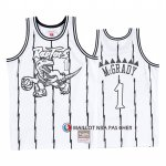 Maillot Tornto Raptors Tracy McGrady Concord Collection Hardwood Classics Blanc Noir